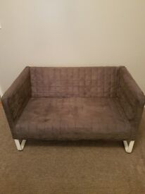 IKEA GREY 2 SEAT SOFA