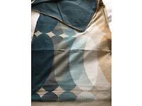 Reduced Dunelm Superking Duvet cover 4 pillowcases