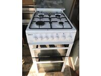 White Gas Cooker 50cm. Free Delivery