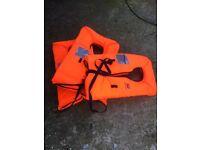 Life jackets/buoyancy aids various sizes