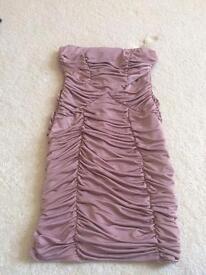 Size 8 strapless dress