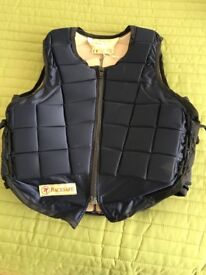 Racesafe medium child body protector. Used but great condition.