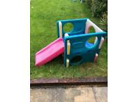Little tikes slide & climbing frame activity cube