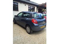 Renault Clio - 07 plate - low mileage (38,000) - 10 months MOT remaining - automatic
