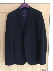 Next men's dark grey suit (with 2 pairs trs and a shirt) - worn once