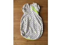 X4 Newborn Grosnug combination Grobag and swaddle sleeping bags