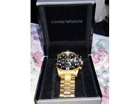 I sell my watch chronograph new Never worn Emporio aramani