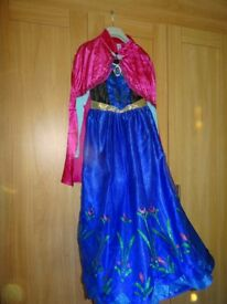Frozen Dressing up Costume Anna aged 11-12