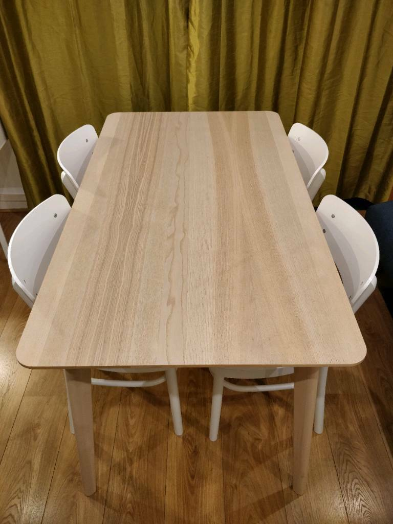 Tremendous Beautiful Dining Set Lisabo Table With 4 Chairs In Mile End London Gumtree Alphanode Cool Chair Designs And Ideas Alphanodeonline