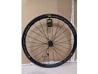 Mavic Ksyrium UST Rear Wheel with Yksion Pro UST Tubeless Tyre