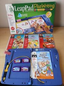 LeapFrog LeapPad Writing Plus with books