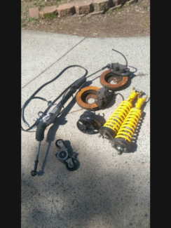 Ford au lll parts springs power steering brakes