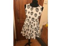 Skull detail Dress