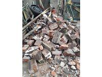 Bricks and junk