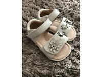 Sainsbury's Tu infant size 5 sandals- new