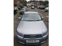 AUDI A3 TDI SPORT 2004 WITH FULL SERVICE HISTORY Warranted Mileage