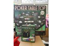 Poker Table & chips