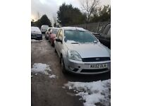 2003 FORD FIESTA 1.4 PETROL BREAKING FOR PARTS