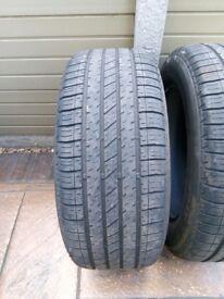 Bridgestone turanza tyres 235/55/R17
