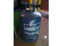 A Full 15kg of Butane Calor Gas & Bottle