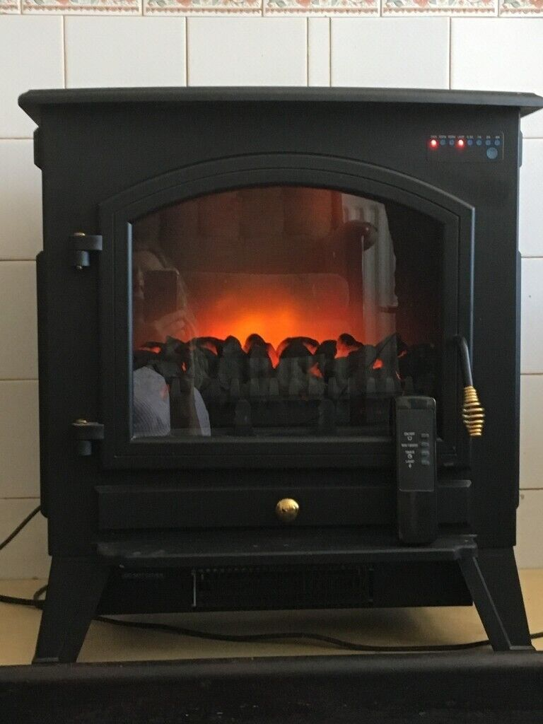 A Nice Looking Working Providing A Good Real Coal Fireplace Effect