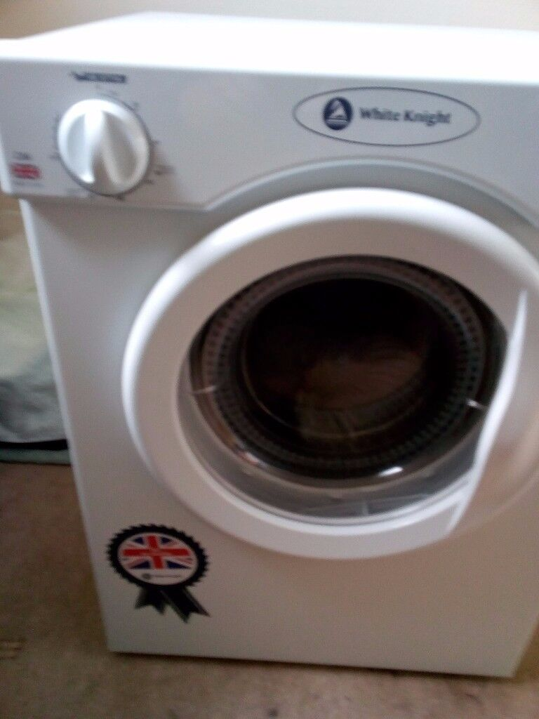 3KG White Knight tumble dryer