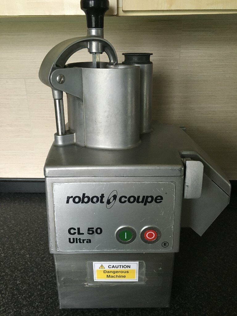 Robot Coupe CL 50 Ultra Vegetable Preparation machine commercial catering with discs industrial