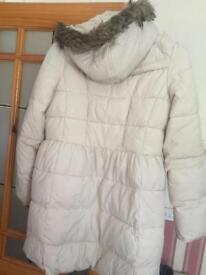 Girls coat ceram M&S (13to14 years)