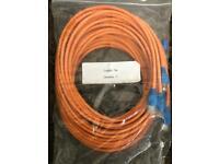 5 x 3m cat 5e cables
