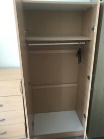 Large Wardrobe and Dresser - only £50 for both