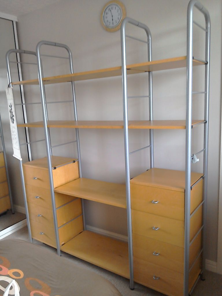Ikea bedroom shelf and storage unit perfect condition for Big w bedroom storage