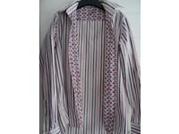Lilac mens shirt Ted Baker
