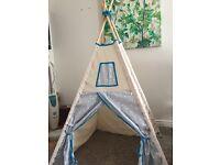 Fabric Teepee /play tent