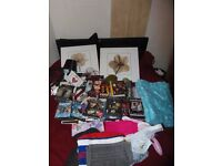 JOB LOT OF ITEMS, HOUSEHOLD, DVD'S, DOG COATS, BOOKS. CARBOOT / EBAY, MORE ITEMS ADDED