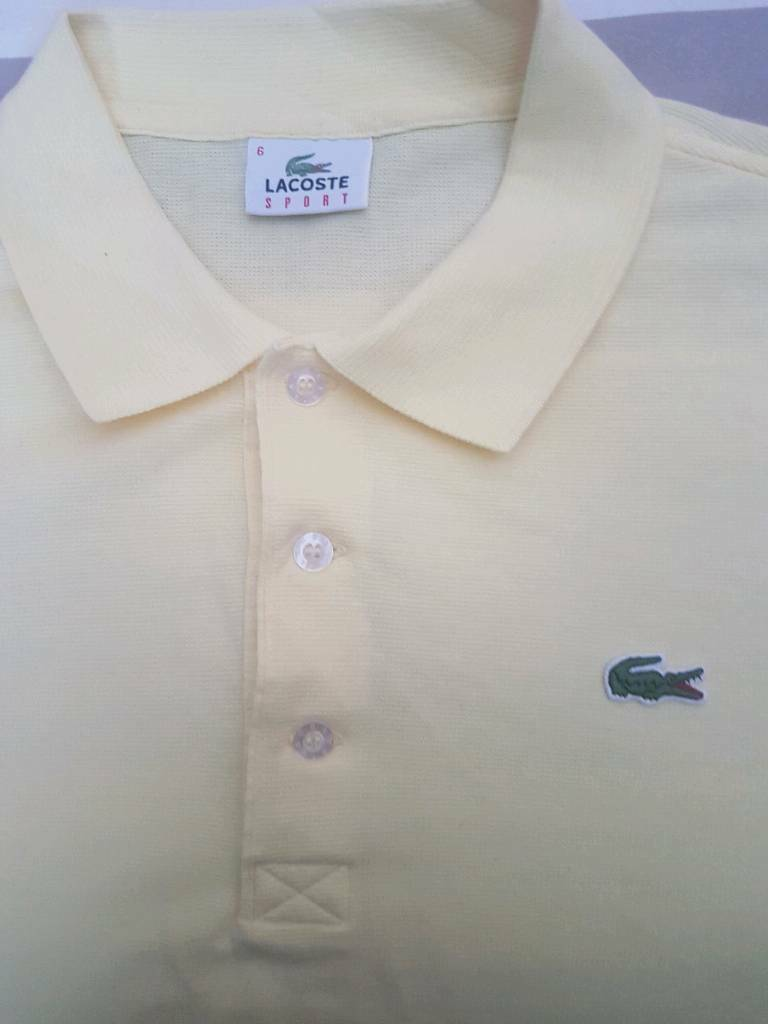 Lacoste Polo Shirt Size 6 In Paisley Renfrewshire Gumtree