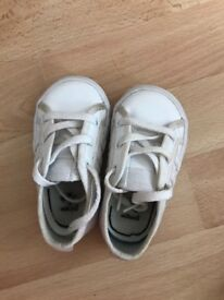 Infant adidas size 3 trainer