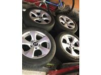 "BMW e90/92 16"" alloy wheels x4"