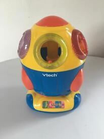 Vtech electronic zoom rocket shape sorter