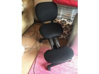 Kneeling Ergonomic Chair with Back cost £166 6 months ago vgc relunatant sale