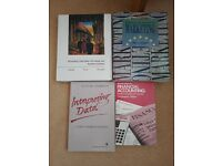 Accountancy textbooks