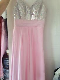 Beautiful brand new pink prom/ evening dress