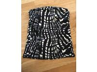 H&M Bandeau Top Size Small