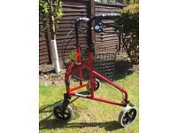 3 wheeled mobility walker