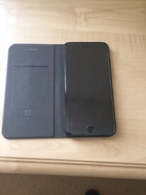 iPhone 7 Plus 256 GB, 10 Months Apple Care and original Apple leather case