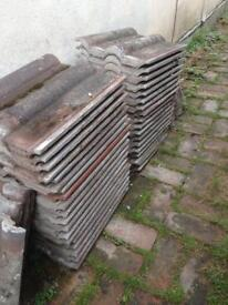 90 double roman roof tiles very good condition