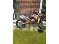 2010 ktm 250 runs perfect with no problems