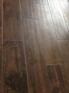 WAREHOUSE BLOWOUT  $1.69 sf 12mm laminate.  Grey rustic wood look. Windsor Region Ontario Preview