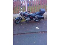 Suzuki GZ125 Marauder £600 or swap for a 125 scooter