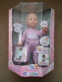 Chou Chou 3 in 1 Learn to Walk Doll