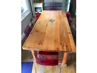 Large dining / kitchen table - seats 8